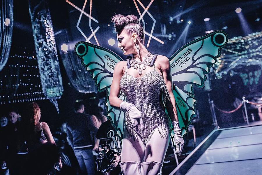 RCV Butterfly al Cavalli Club Dubai