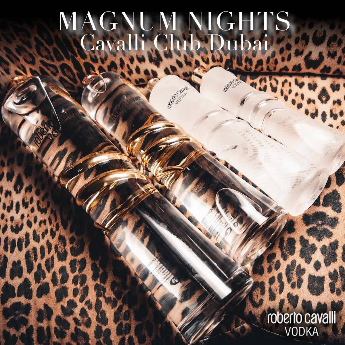 MAGNUM NIGHTS AT CAVALLI CLUB DUBAI