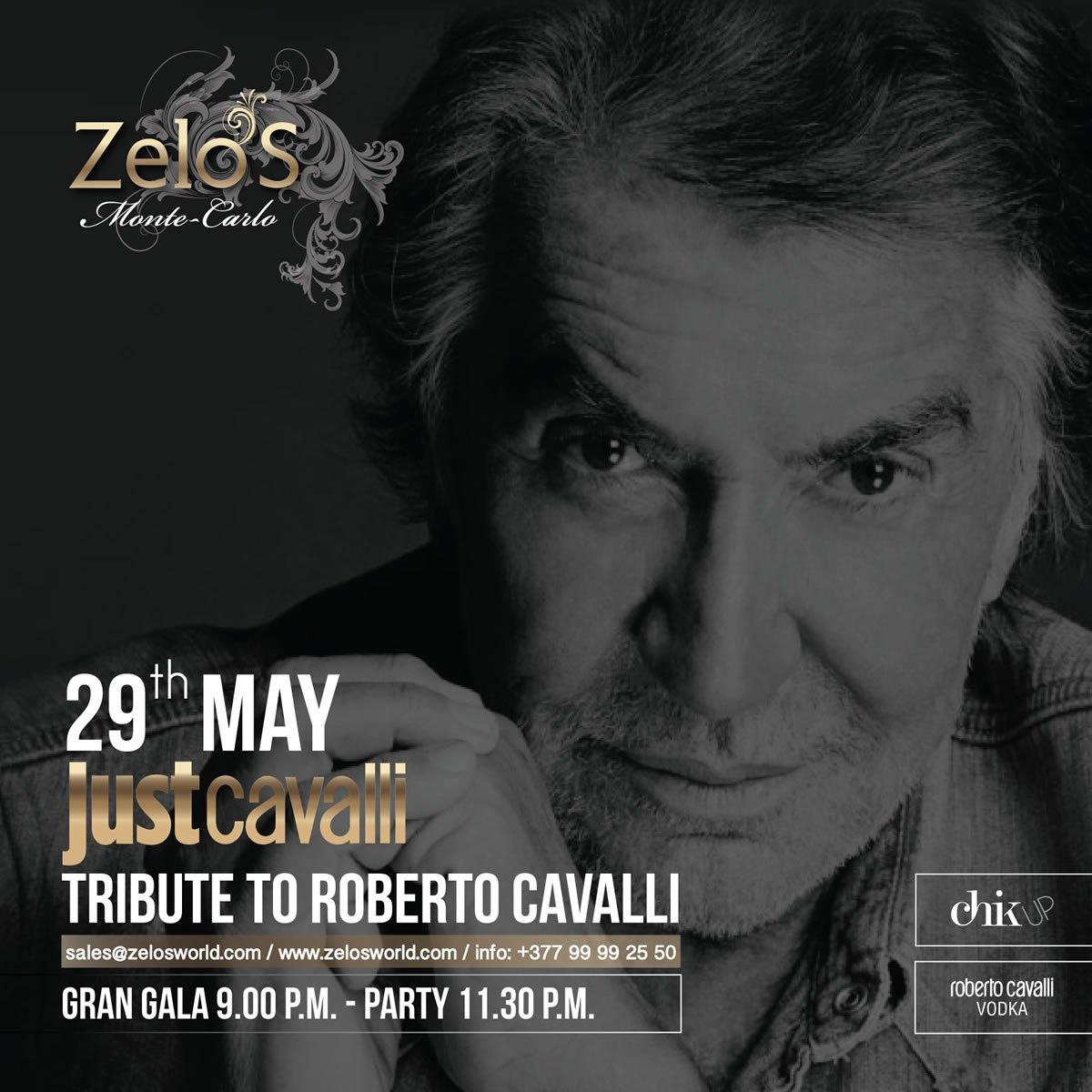 TRIBUTO A ROBERTO CAVALLI