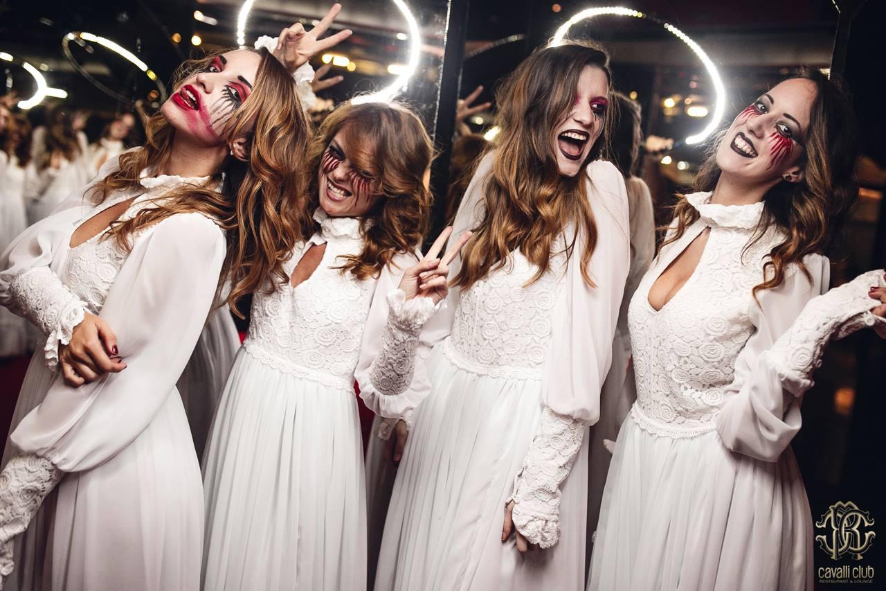 LADIES NIGHT HALLOWEEN SPECIAL<br/>CAVALLI CLUB DUBAI