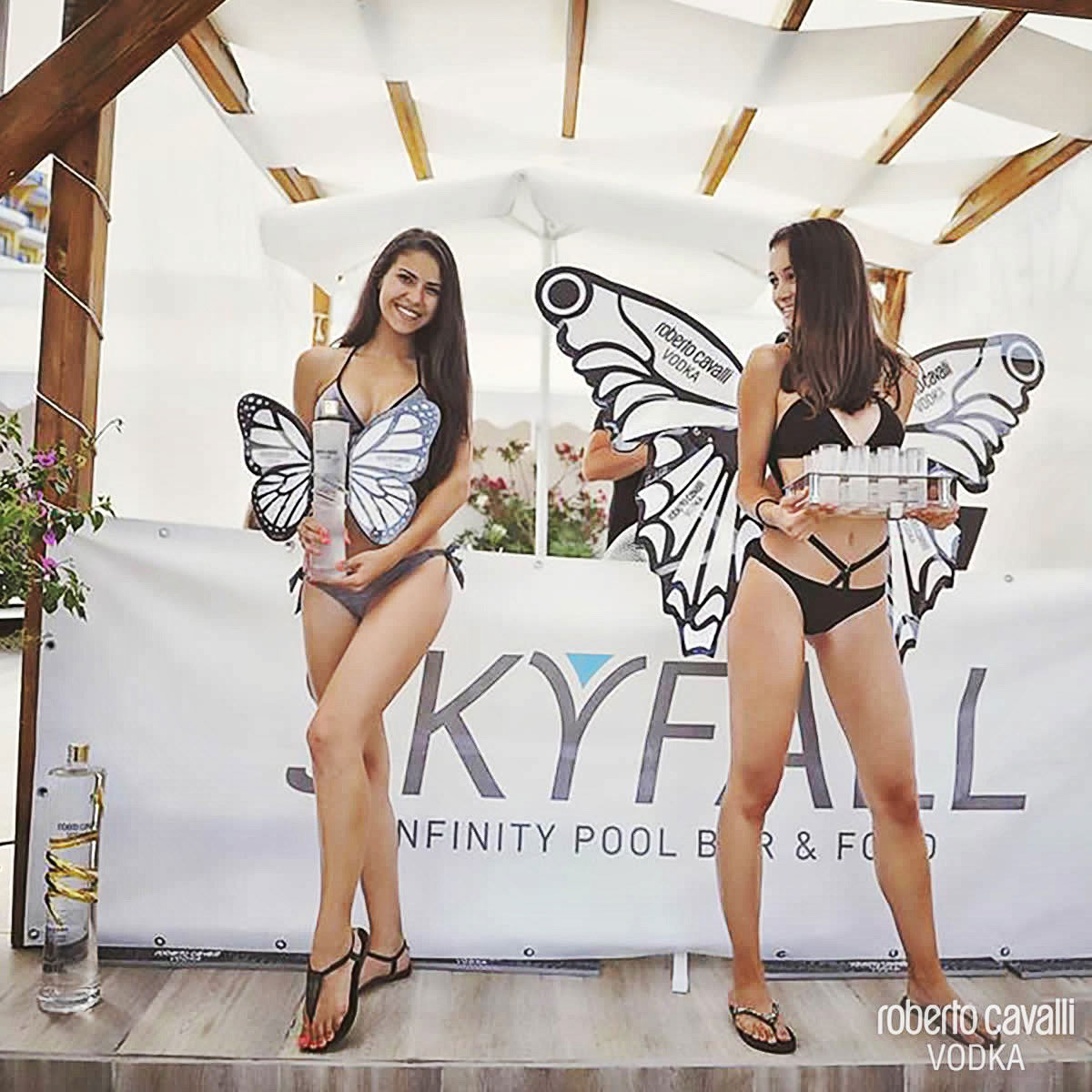 BUTTERFLY PARTY<br/>AT SKYFALL INFINITY POOL BAR<br/>GOLDEN SANDS BLACK SEA